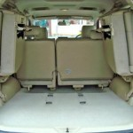 Toyota Fortuner Back Seats